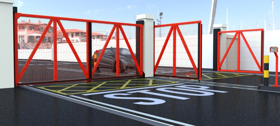 parking access control equipment parking facilities controlled security for logistic sites