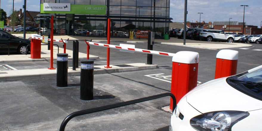 Installation with Bollards