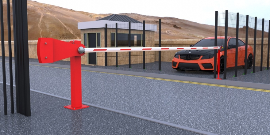 PF5000S Manual Arm Barrier